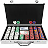 400 Chip Tri-Color Triple Crown Set w/Executive Alum. Case