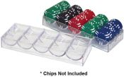 Clear Acrylic Chip Rack/Tray