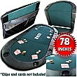 Tops Padded Poker Table Poker Table Texas Holdem