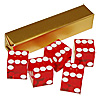 Red Casino Dice Craps Dice 19mm Serial Crap Dice