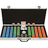 650 Chip Nevada Jacks 10g Set w/Executive Aluminum Case