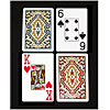 KEM Jumbo Index Paisley Bridge Size Plastic Playing Cards