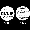 PAUL DARDEN Professional Collector's Dealer Button