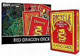 Red Dragon Deck - Bicycle Red Yellow