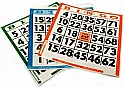 Push Out Cards bingo bingo cards bingo balls bingo chips bingo accessories