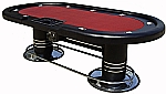 Pedestal Poker Tables