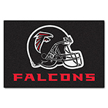 Atlanta Falcons Starter Duragon latex Rug 20