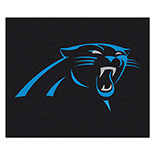 Carolina Panthers Tailgater Duragon latex Rug 60
