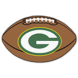 Green Bay Packers Football Duragon latex Rug 22