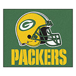 Green Bay Packers Tailgater Duragon latex Rug 60