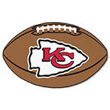 Kansas City Chiefs Football Duragon latex Rug 22