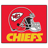 Kansas City Chiefs Tailgater Duragon latex Rug 60
