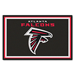 Atlanta Falcons Duragon latex Rug 4x6 46