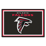Atlanta Falcons Duragon Latex Rug 5x8 60