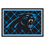 Carolina Panthers Duragon Latex Rug 5x8 60