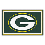 Green Bay Packers Duragon latex Rug 4x6 46