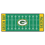 Green Bay Packers Duragon Latex Runner 30