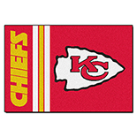 Kansas City Chiefs Starter Duragon latex Rug 20