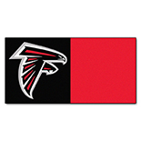 Atlanta Falcons Vinyl Backing Carpet Tiles 18