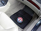 Texas Rangers Heavy Duty 2-Piece Vinyl Car Mats 18