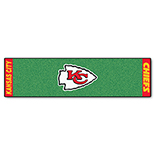 Kansas City Chiefs Putting Green Duragon latex Runner 24