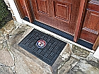 Texas Rangers Medallion Door Heavy Duty Vinyl  Mat