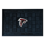 Atlanta Falcons Medallion Door Molded Longevity Mat