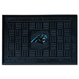 Carolina Panthers Medallion Door Molded Longevity Mat