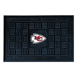 Kansas City Chiefs Medallion Door Molded Longevity Mat