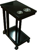 Wooden Drink cart food cart for poker table drink cart for poker table food cart for poker tables