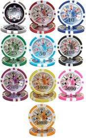 Ben Franklin 14 gram Series Poker Chips