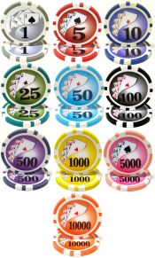 Yin Yang Series 13.5 gram Poker Chips