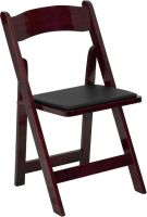 Mahogany Wood Folding Chair Padded Folding Chair xf-2903