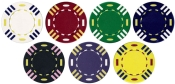 Three Striped 13.5g Poker Chip