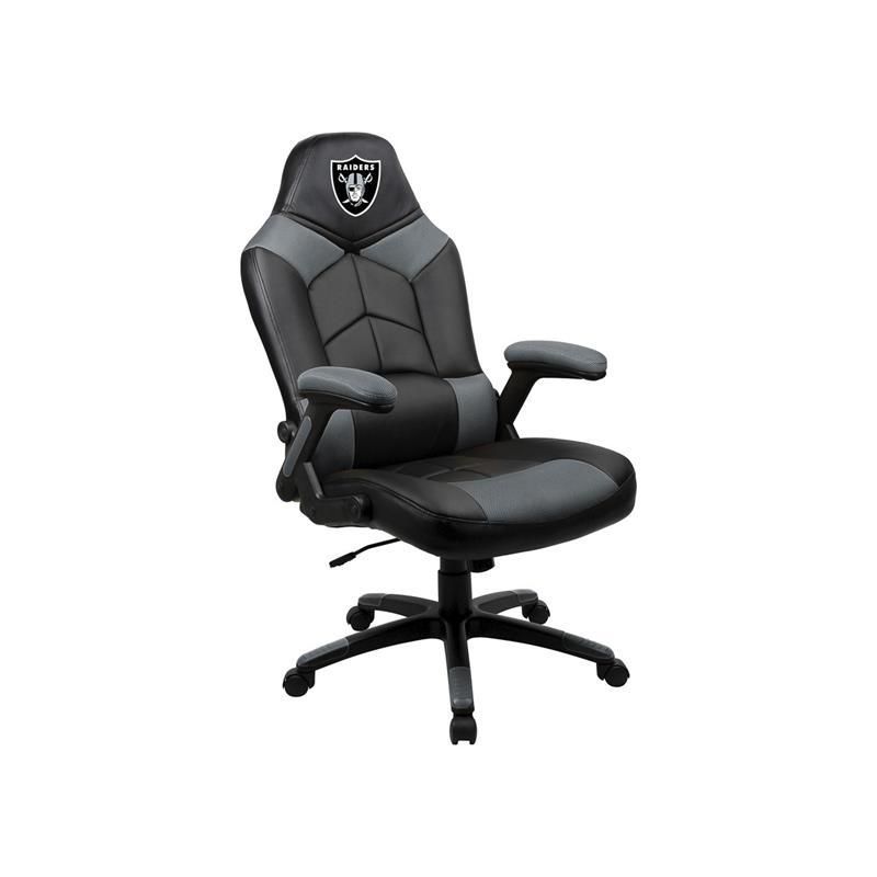 Superb Oakland Raiders Oversized Video Gaming Chair Machost Co Dining Chair Design Ideas Machostcouk