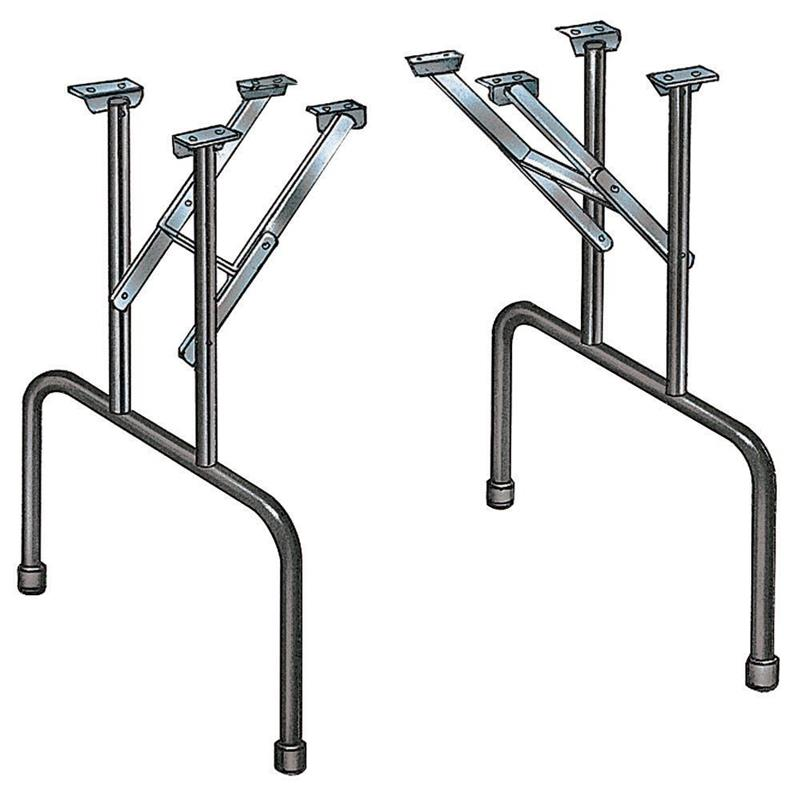 Folding Table Legs For Poker Tables Only Set Of 2