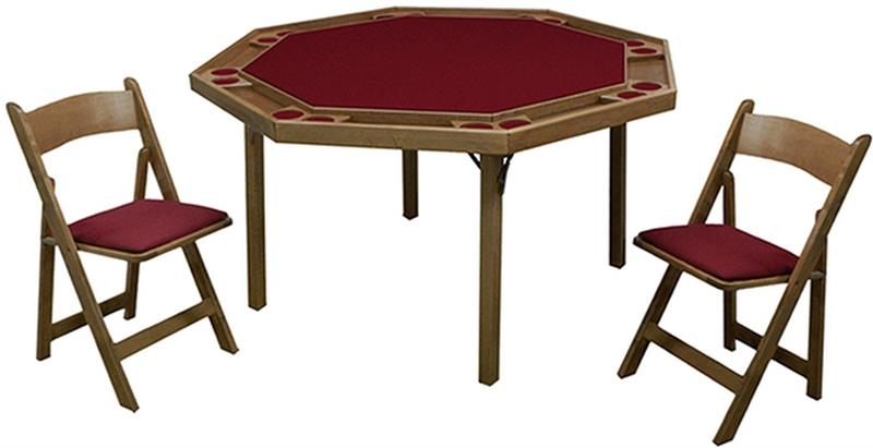 Poker Table Folding Legs Kestell Octagon