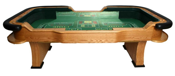 Miraculous Professional Casino Style Craps Table Beutiful Home Inspiration Ommitmahrainfo
