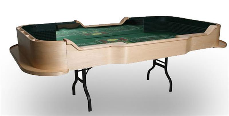 Stupendous Portable Professional Craps Table Beutiful Home Inspiration Ommitmahrainfo