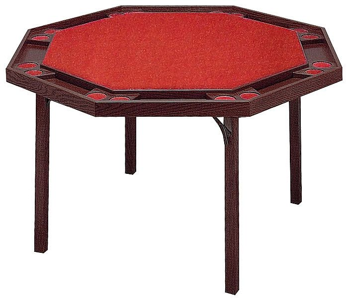 Beau Poker Table Folding Legs Kestell Octagon