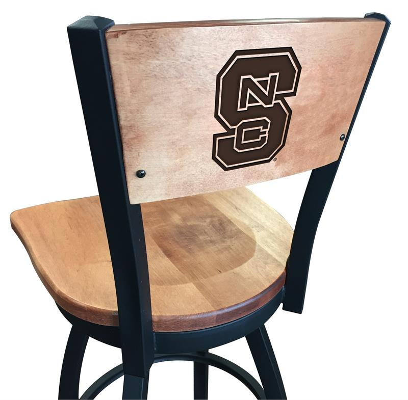 Incredible L038 Black Wrinkle North Carolina State Swivel Bar Stool Unemploymentrelief Wooden Chair Designs For Living Room Unemploymentrelieforg