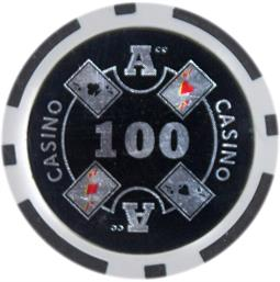 Ace Casino 14 gram - $100 Sold by the Roll25 pcs. per Roll