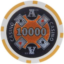 Ace Casino 14 gram - $10000 Sold by the Roll25 pcs. per Roll