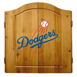 Los Angeles Dodgers Complete Dart Cabinet