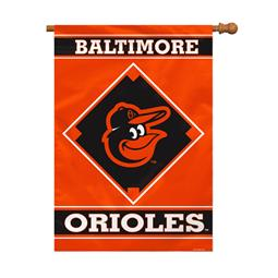 "Baltimore Orioles House Banner 28"" x 40"" 1- Sided"