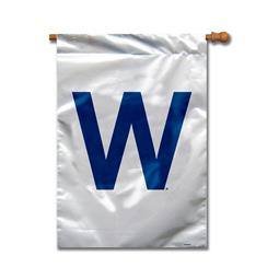 Chicago Cubs House Banner 28 Inch x 40 Inch 1- Sided