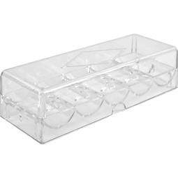 100 Ct Acrylic Chip Tray With Lid