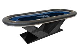 Victory Hold'em Poker Table with V-Type Legs