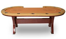 Hero Texas Hold'em Poker Table with H-Type Casino Legs