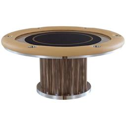 Executive Round Poker Table Customizable